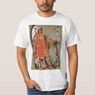 Portait of Indian Chief Mato-Tope by George Catlin T-Shirt