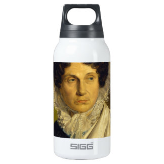 Portait of the Artist's Mother by Alfred Rethel Insulated Water Bottle