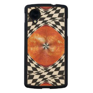 Portal al Sun Funda De Nexus 5 Carved® Slim De Arce