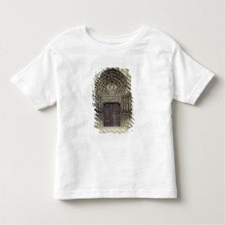 Portal and surrounding sculptures with biblical fi toddler t-shirt