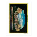 Portal de la opinión de la grandeza del valle de tarjeta postal