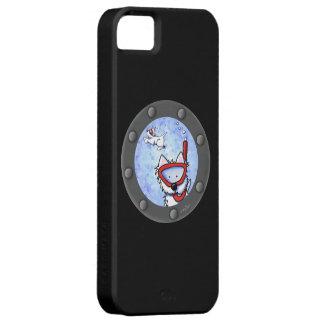Portal de Westies que bucea iPhone 5 Protectores