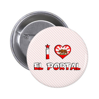 Portal del EL, CA Pin