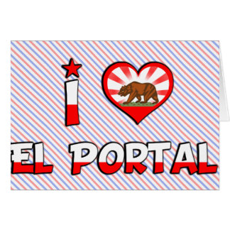 Portal del EL, CA Felicitacion