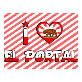 Portal del EL CA Tarjeta Postal