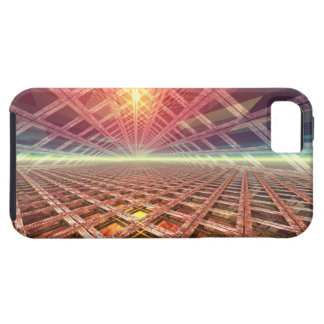 Portal del espacio a las estrellas iPhone 5 fundas