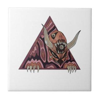 Portal Demon Ceramic Tile