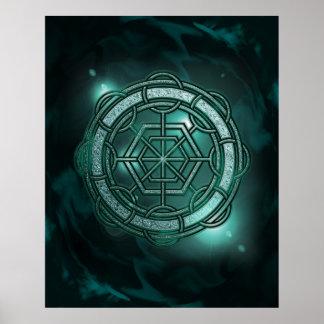 Portal Glyph: The Jadegate Print