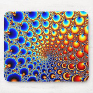 Portal hipnótico - fractal Mousepad Alfombrillas De Ratón