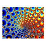 Portal hipnótico - postal del fractal