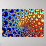 Portal hipnótico - poster del fractal