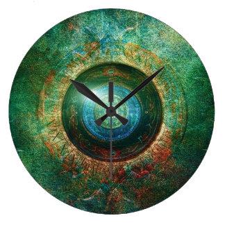 Portal large round clock