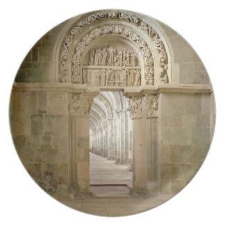 Portal lateral, c.1125 (foto) platos