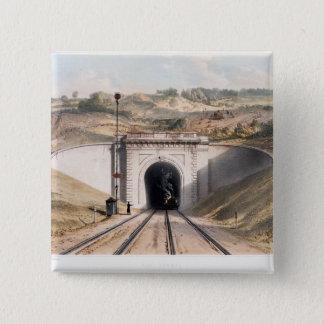 Portal of Brunel's box tunnel near Bath Button