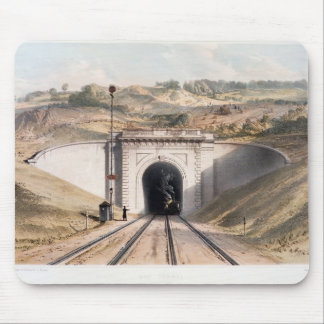Portal of Brunel's box tunnel near Bath Mouse Pad