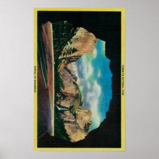 Portal of Grandeur view of Yosemite Valley Poster