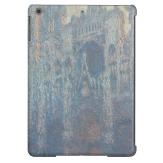 Portal of Rouen Cathedral Morning Light by Monet iPad Air Cover