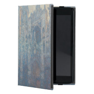Portal of Rouen Cathedral Morning Light by Monet Cases For iPad Mini