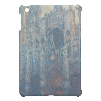 Portal of Rouen Cathedral Morning Light by Monet iPad Mini Cover