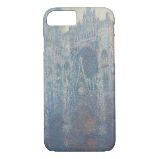 Portal of Rouen Cathedral Morning Light by Monet iPhone 8/7 Case