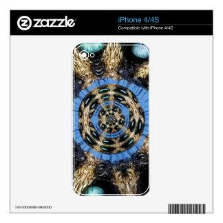 Portal psicodélico de la araña calcomanía para iPhone 4S