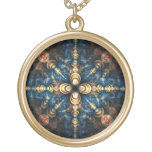 Portal Round Pendant Necklace
