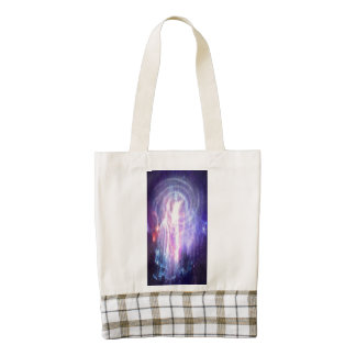 Portal to Anywhere Zazzle HEART Tote Bag