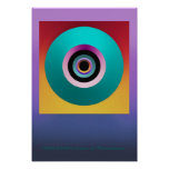 """"""" PORTAL TO INFINITY """" by: Robert Singletary Posters"""