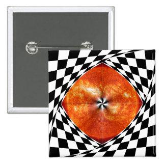 Portal to the Sun 2 Inch Square Button