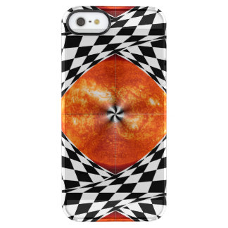 Portal to the Sun Clear iPhone SE/5/5s Case