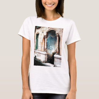 Portal to the Universe stars cosmos building gate T-Shirt