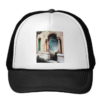 Portal to the Universe stars cosmos building gate Trucker Hat