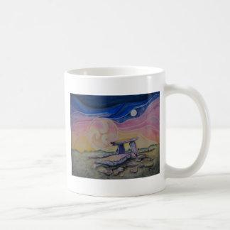 Portal tomb classic white coffee mug