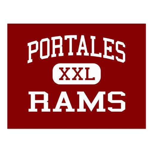 Portales - espolones - joven - Portales New México Tarjeta Postal