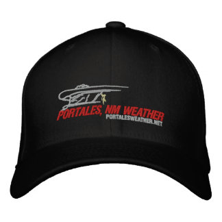 Portales, NM Weather Flex-Fit Hat Embroidered Baseball Caps