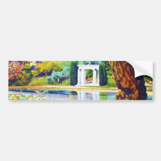 """Portals of the Past"" Golden Gate Park Bumper Sticker"