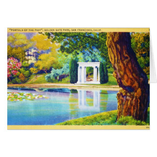 """Portals of the Past"" Golden Gate Park Card"