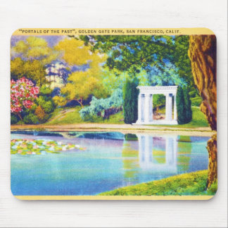 """Portals of the Past"" Golden Gate Park Mouse Pad"