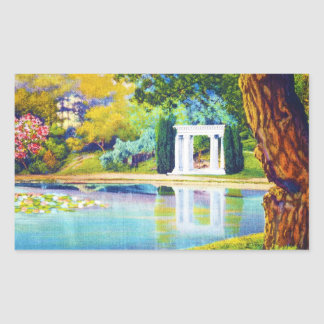 """Portals of the Past"" Golden Gate Park Rectangular Sticker"