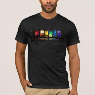 Portals (Wide) Black T-Shirt