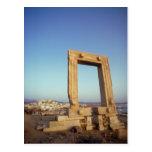 Portara, Naxos, Grecia Postales