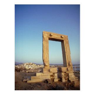 Portara Naxos Greece Post Cards