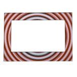 Portarretrato espiral rot-weisse blanco rojo foto de imanes