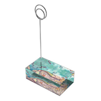 Portatarjetas de la tabla de la fiesta de soporte para tarjeta de mesa