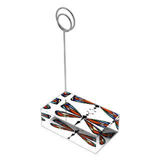 Portatarjetas de la tabla de la libélula del vitra soportes para tarjetas de mesa