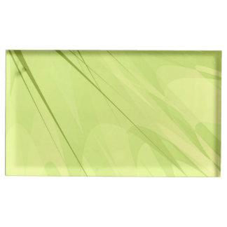 Portatarjetas de la tabla soporte de tarjeta de mesa