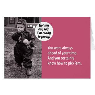 Portatarjetas de regalo de cumpleaños de los años tarjeta de felicitación