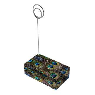 Portatarjetas del número de la tabla de la pluma d soportes de tarjeta de mesa
