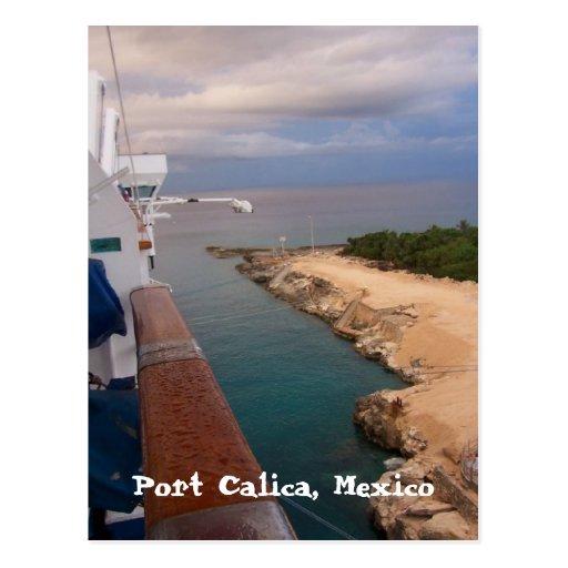portcalicamexico, puerto Calica, México Tarjetas Postales
