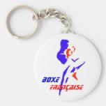 Porte-clé Boxe Française Key Chain